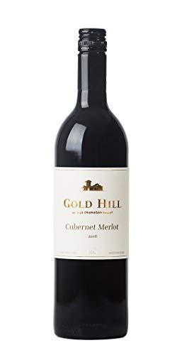 Gold Hill 2016 Cabernet Merlot Rotwein mit Erdbeermarmeladenaroma, 75 cl, 1 Flasche, Okanagan Valley, Kanadier, BC VQA Kanada