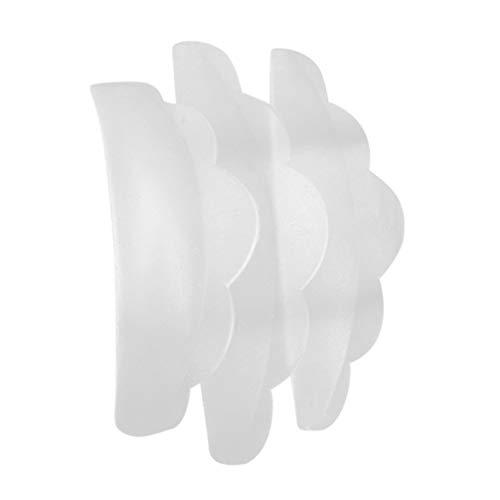 Minkissy 3 Paires de Tampons D'extension de Cils Joints de Colle de Cils Pad Palette Adhésive Planter Des Tampons de Cils pour Le Maquillage Extension de Cils Salon