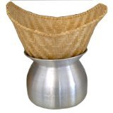 Sticky Rice Steamer Pot and Basket Cook Kitchen Cookware Tool