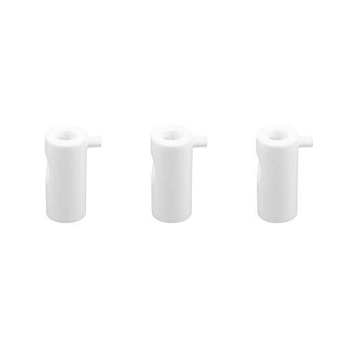 Kit de descentralización para cable eléctrico textil con tope – Pack de...