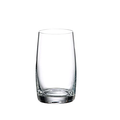 Vaso para beber, jugo de leche, vaso de vino extranjero y vaso de whisky, vidrio transparente sin plomo, un juego de 2 largos A2