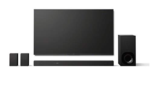 Sony HT-ZF9 - Barra de sonido 3.1 con Alexa Integrada (Dolby Atmos, DTS:X, HDMI, Bluetooth, Wi-Fi, compatible con 4K HDR, HDCP 2.2), color negro