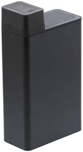 山崎実業(Yamazaki) 詰め替え用ランドリーボトル ブラック 約W5.5XD11XH20cm タワー 3588