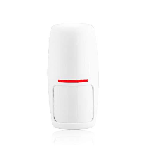 Tuya Smart WiFi alarmsysteem huisalarm alarmsysteem 433MHz draadloos sirene stroboscoop, compatibel met Alexa Google Home APP IFTTT samrt Life, Infrared sensor, 1