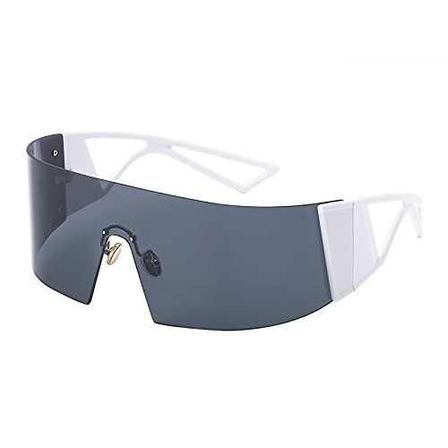 AMFG Espejos Al Aire Libre A Prueba De Viento, Gafas De Sol, Hombres Y Mujeres Montando Gafas, Decoración De Fotos, Ropa Con Gafas (Color : A, Size : M)