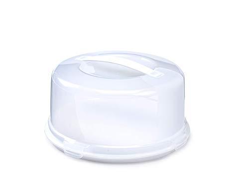 Whitefurze -   rund Kuchen Box,