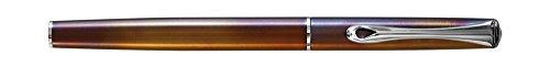 Diplomat D40701023 Traveller Flame Füllfederhalter Fein