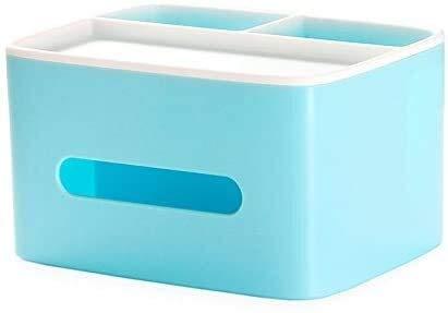 MUZIDP Caja de Tejidos Multifuncional Caja de Estar Creativa Tabla de café Control Remoto Caja de Almacenamiento Hogar Caja de Tejido plástico Simple