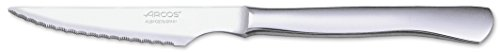 Arcos Table Knives - Steak Knife Table Knife - Monoblock of one piece Stainless Steel 4' - Silver Color