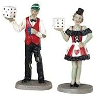 Lemax Spooky Town Casino Figures, Set of 2#82621