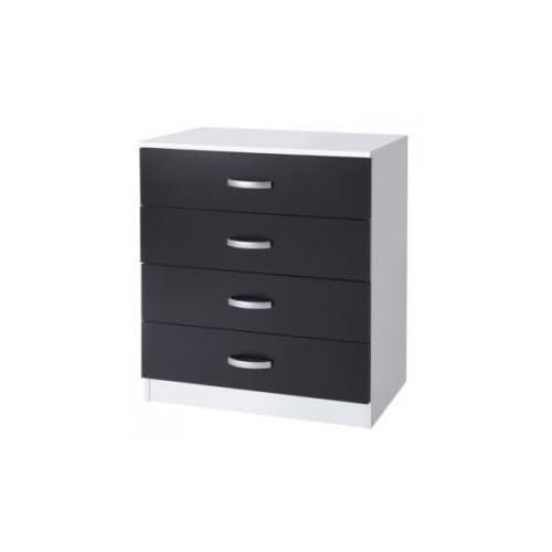 Black and White Bedroom Drawers: Amazon.co.uk