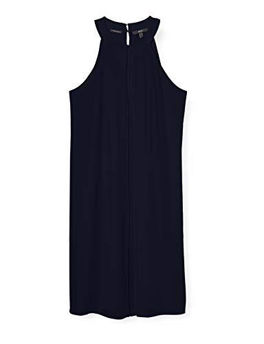ESPRIT Collection Damen 040EO1E341 Kleid, 400/NAVY, 36