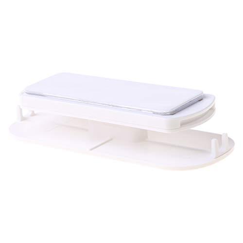 Ixkbiced Enchufe Etiqueta de fijación Enchufe Soporte de regleta de alimentación Cable Organizar Fijador Adhesivo de Pared