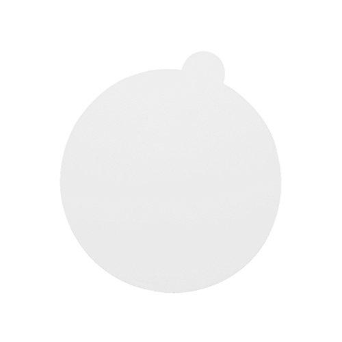 Anself 60PCS Cils Extension Colle Autocollant Patches Palette de Colle Adhésive Jetable Tampons Adhésifs