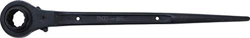 BGS 305 | Gerüstbauer-Knarre | SW 24 x 30 mm | CV-Stahl | Gerüstbauratsche | rechts / links umschaltbar