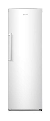 Hisense FV306N4CW2 Gefrierschrank/ Eiswürfelbereiter/ TotalNoFrost/ SuperFreeze/ Türalarm/ Multiflow 360°/ BigBox/ 174,6 cm/ Gefrierteil 254 l/ 43 dB/ 239 kWh/Jahr/ Inox-Look