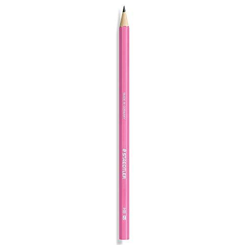 """STAEDTLER Bleistift WOPEX neon, H""""rtegrad: HB, neon-pink"""
