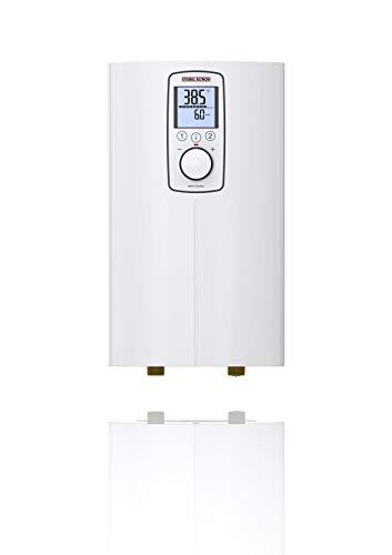 Stiebel Eltron scaldabagno Compatto istantaneo, Adatto per docce, Massima efficienza energetica, erogazione precisa della Temperatura, 238158, Bianco, 6/8 kW