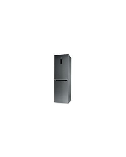 Indesit XI9 T2O X MB Libera installazione 369L A++ Acciaio inossidabile frigorifero con congelatore
