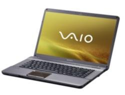 Sony Vaio NW11S/T 39,4 cm (15,5 Zoll) Laptop (Intel Core 2 Duo T6500 2.1GHz, 4GB RAM, 320GB HDD, ATI HD4570, DVD, Vista Home Premium)