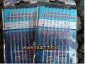 Tubertini série de 20 crochets nICKEL-s.20 lié par taille poche à 0,20 mm/200 cm