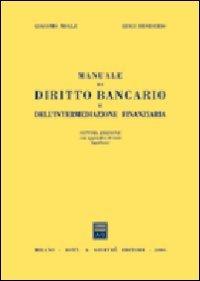Manuale di diritto bancario e dell'intermediazione finanziaria
