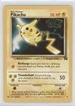 Pokemon - Pikachu (Pokemon TCG Card) 1999-2002 Pokemon Wizards of the Coast Exclusive Black Star Promos #4