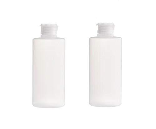 Botella de plástico suave vacía de 200 ml con tapa abatible rellenable para maquillaje muestra envases de almacenamiento para botellas de viaje frascos para loción de ducha gel champú