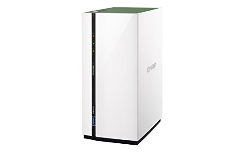 QNAP TS-228A Desktop NAS Gehäuse mit 1 GB DDR4, Powerful 2-Bay Storage Server