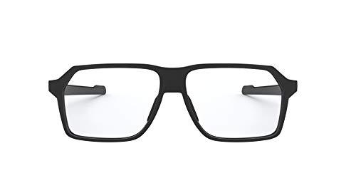 Oakley Herren OX8161 Lesebrille, Black, 55