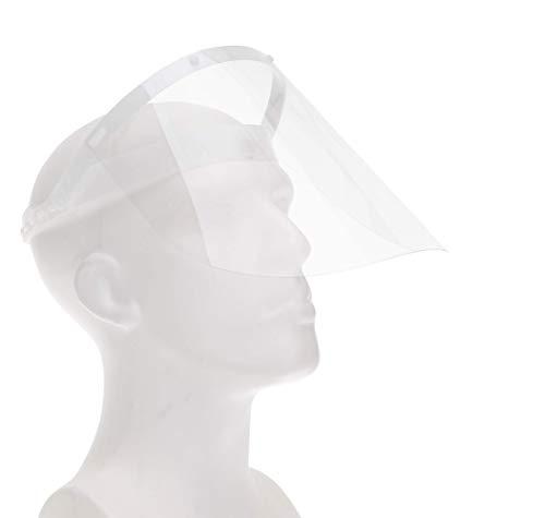 Fredo Gesichtsschutz Visier aus Polycarbonat - CE Zertifiziertes Face Shield - Aufklappbares Gesichtsvisier - für Mann/Frau/Kind
