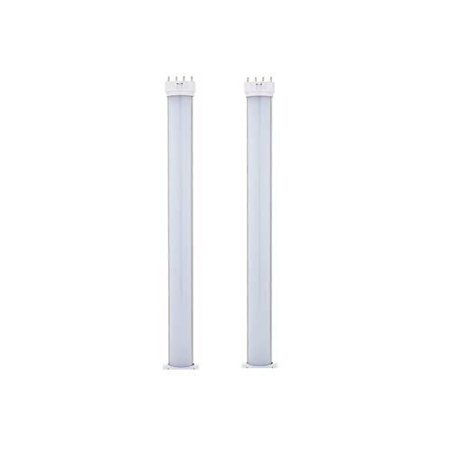 Xingyue Aile buitenverlichting & speelparaties LED-gloeilampen, 18W 2G11 4-pins fitting 16.3 inch 2G11 horizontale plug LED PL-lamp voor 35W TL-lampen vervanglamp (verwijderen of overbruging)