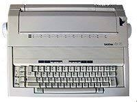 Brother AX-15 Portable Schreibmaschine