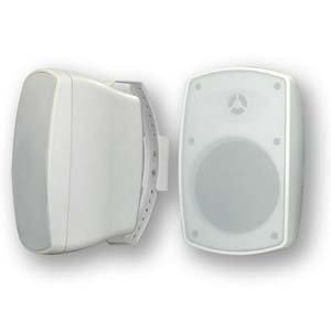 InstallerParts Indoor/Outdoor Wallmount 2-Way Speaker White BL520 1 Pair (2pc)