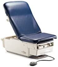 Midmark Corporation 222-016 Ritter 222 Barrier-free Exam Table Base with Seamless Upholstery Top , with Pelvic Tilt and Drawer Warmer, with Receptacle, # 002-0871-00-216 Seamless Upholstery Top, Pebble Grey Color (Each)