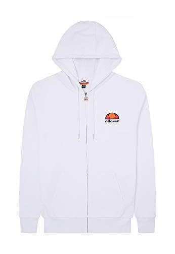 ellesse Damen Daje Hooded Sweatshirt, Damen, Kapuzenpullover, SGS08771, weiß, 34