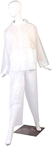 GUIYTQ5R Chubasquero Moto Impermeable poncho de lluvia de las mujeres ropa impermeable impermeable con capucha traje de pantalones a prueba de agua al aire libre chaqueta de la motocicleta capas de ll