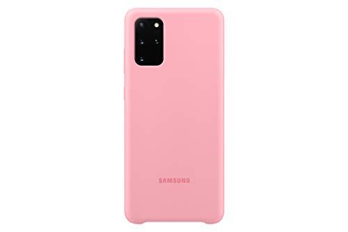 Samsung Silicone Smartphone Cover EF-PG985 für Galaxy S20+ | S20+ 5G Handy-Hülle, Silikon, Schutz Case, stoßfest, dünn und griffig, pink