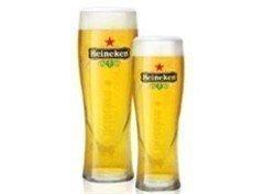 Confezione da 2 bicchieri da birra Heineken, capacità 2/3 di pinta