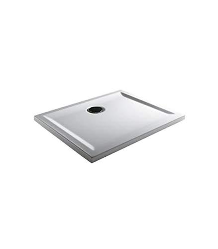 Teuco - Douchebak rechthoekig wit Perspectief - 90x75, Wit, Op voorraad