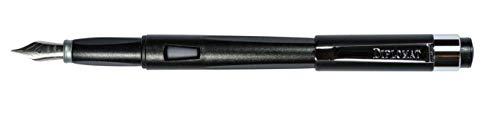 DIPLOMAT - Füllhalter Magnum rabenschwarz - Schick und elegant - 2-Jahre-Garantie - Rabenschwarz