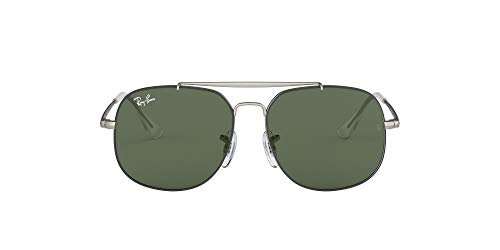 Ray-Ban 0RJ9561S-50-277-71 Gafas, Top Rubber Black On Silver, 50 para Hombre