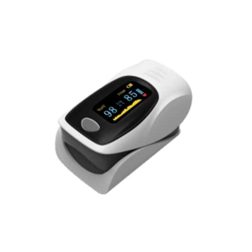 SPO2 Medidor de oxigeno en sangre y pulsaciones. Oxímetro profesional, con pantalla OLED. Medidor de Pulso Digital de Lectura Instantánea, Medidor de oxigeno en sangre adecuado para Adultos y Niños