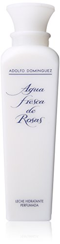 ADOLFO DOMINGUEZ - Agua fresca de rosas loción hidratante corporal, 500 ml