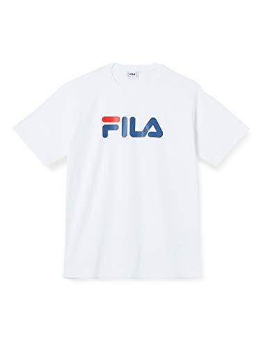 FILA Unisex Classic Pure ss Tee T-Shirt, bright white, S