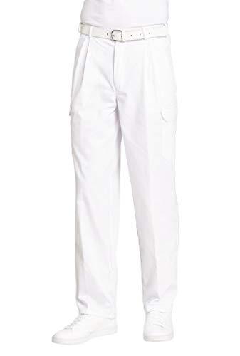 LEIBER Cargo-Hose Damen/Herren ,Farbe : Weiß, Größe : 26