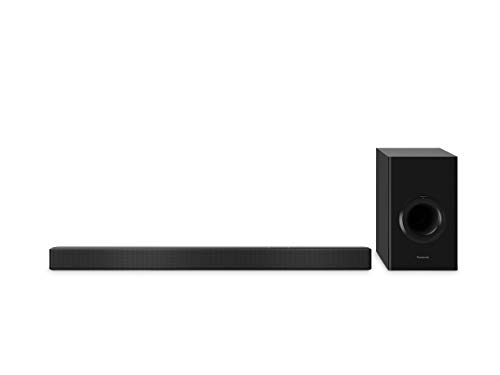 Panasonic SC-HTB510EGK 2.1 Soundbar mit Subwoofer (Google Chromecast Audio, Multiroom Soundbar, HDMI ARC, Bluetooth, 240 Watt RMS) schwarz