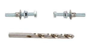 Pro-tek Shifter Linkage Male Shift Rod 6mm Right and Left Threaded Ends with Locking Nuts 8.75 inch