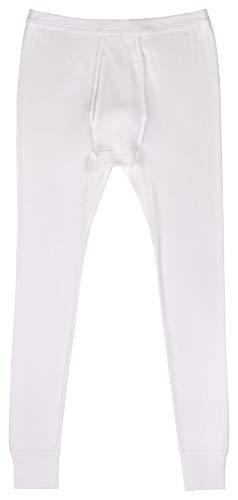 AMMANN Unterhose lang mit Eingriff Doppelripp in weiß Größen 5-8 Größe 5