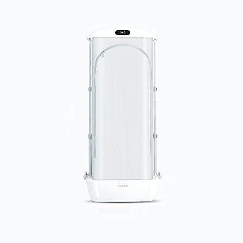 Vapor automático de la ropa, pequeño secador, máquina de planchar inteligente del hogar, esterilización de alta temperatura y eliminación de arrugas blanco perla